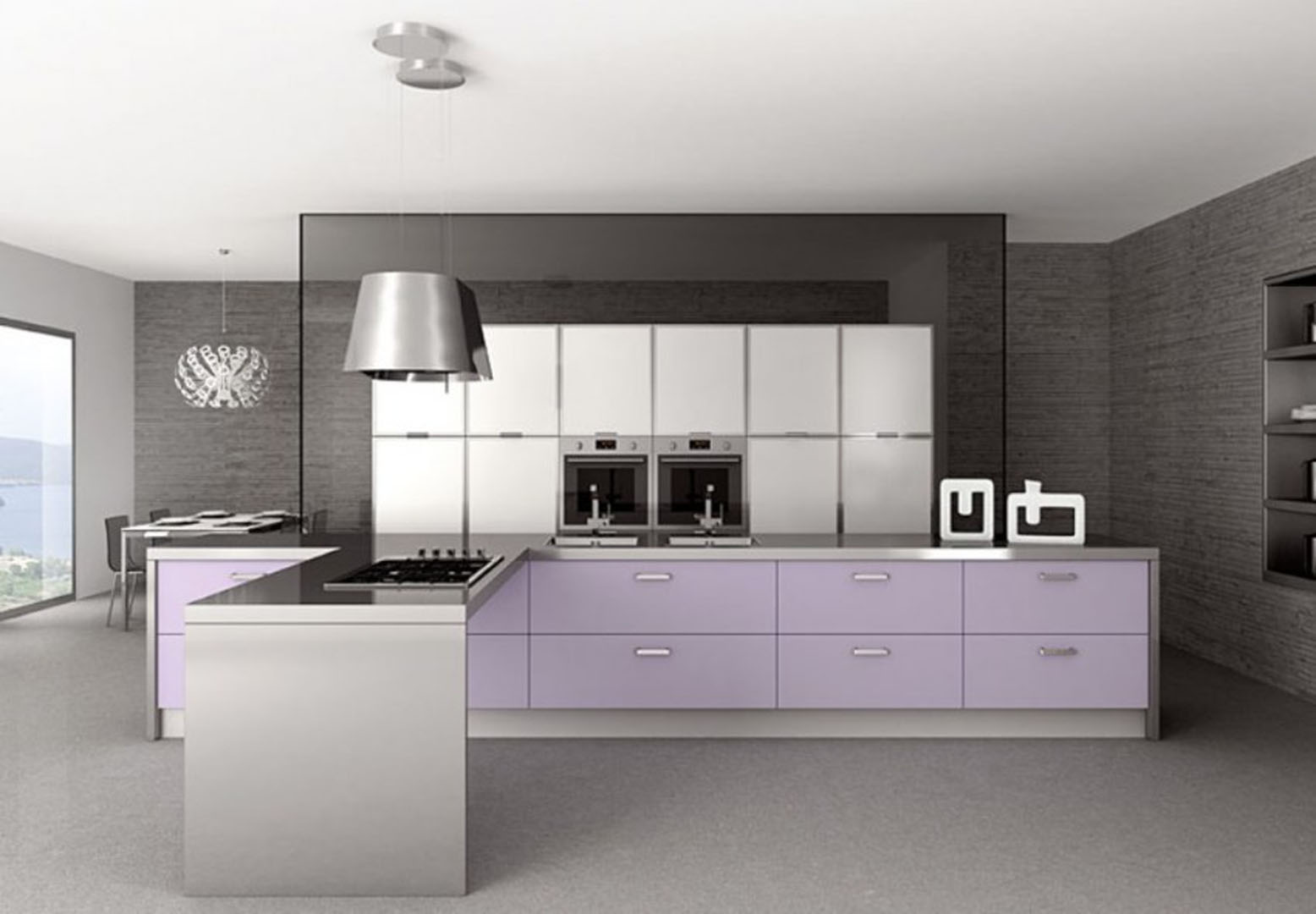 Mobili cucina moderna excellent cucine country prezzi best cucine country prezzi with cucine - Cucine moderne scure ...
