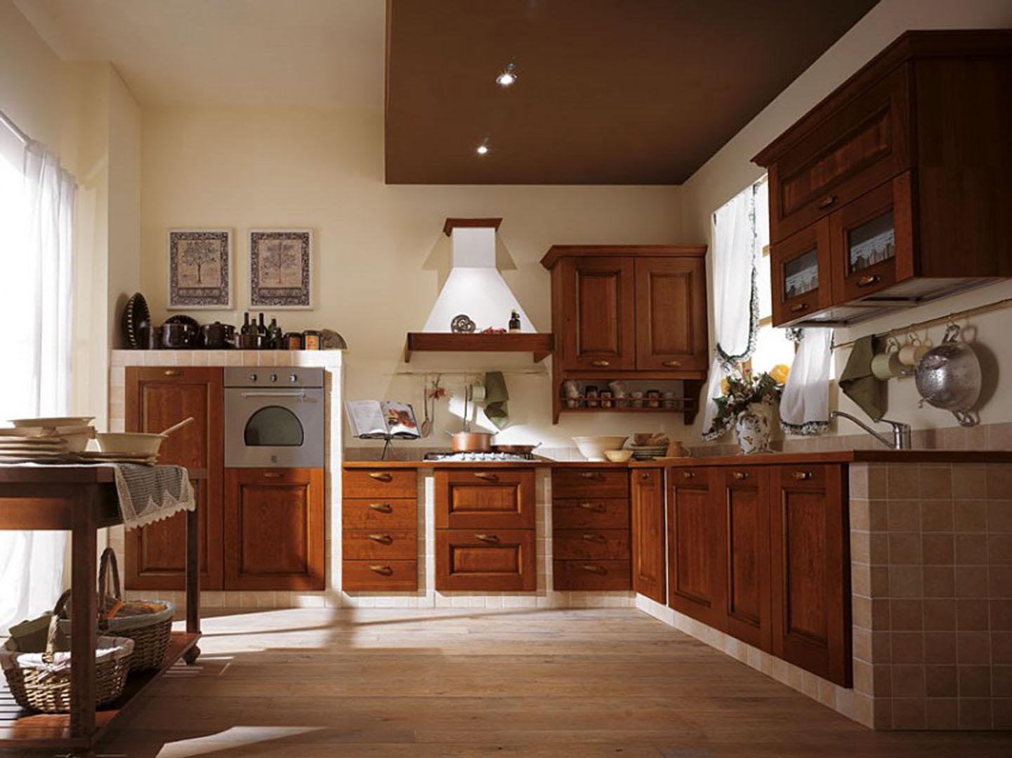 Cucina classica cucine scavolini classiche fascino senza - Cucina scavolini classica ...