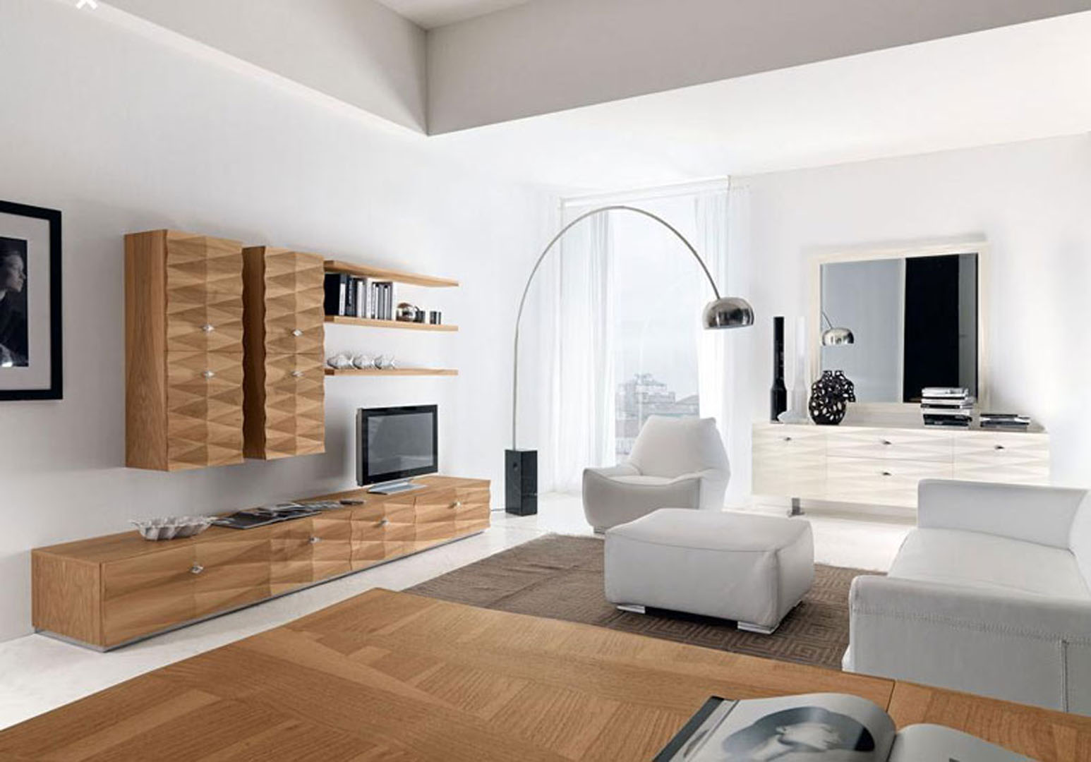 Soggiorni moderni sirigu mobili for Foto soggiorni moderni
